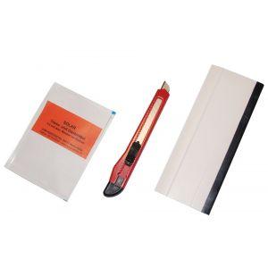 Heimwerker-Zubehörset für Folienflächen bis 2 qm