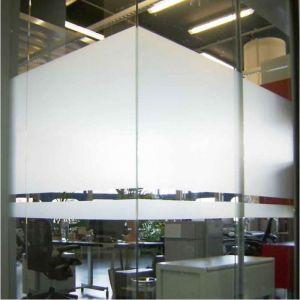 Beschichtete Glastrennwände