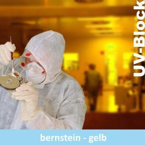 Transparentes bernstein-gelb