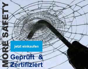 Sicherheitsfolien - Mehr Sicherheit für Fenster und Glasscheiben